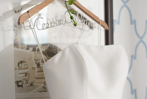 Wedding Must-Have: Personalized Dress Hanger