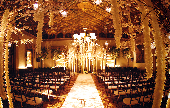 Wedding Decor Inspiration: Gold Room at The Breakers Palm Beach
