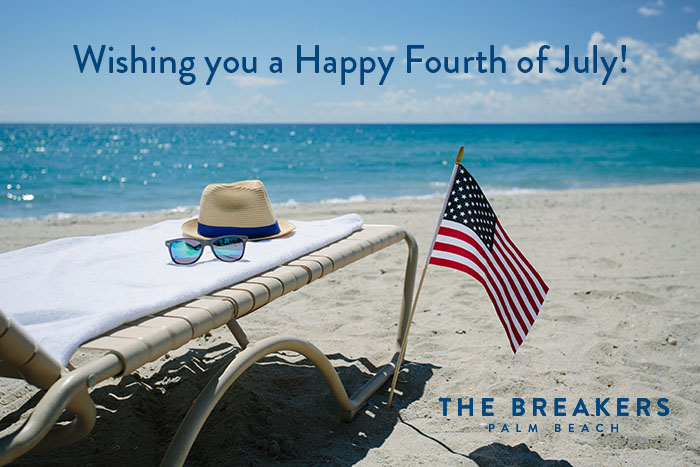 Happy Fourth of July from The Breakers Palm Beach