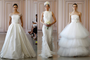Bridal Fashion: Oscar de la Renta