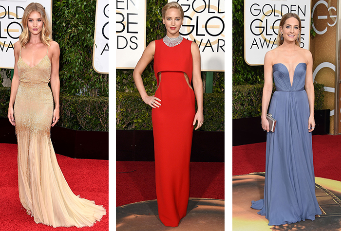 Aisle Style: Red Carpet Bridal Inspiration from the Golden Globes