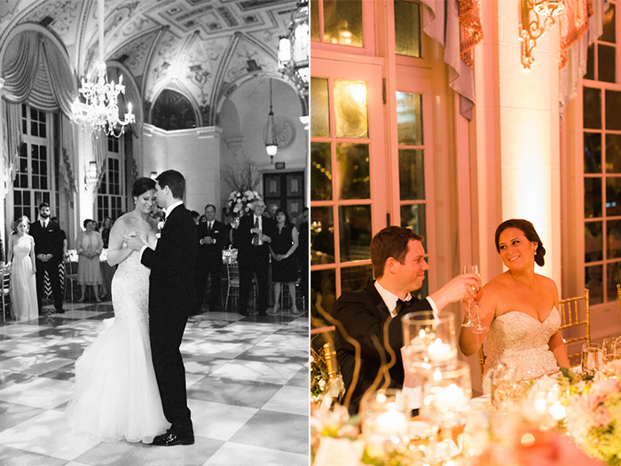Real Wedding: Lindsay & Matt at The Breakers - Featured in Style Me Pretty