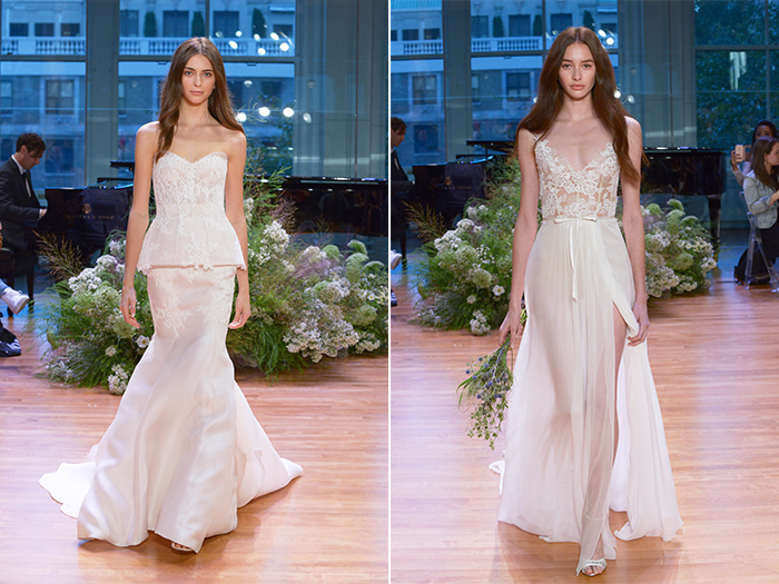 Monique Lhuillier Bridal Fall 2017