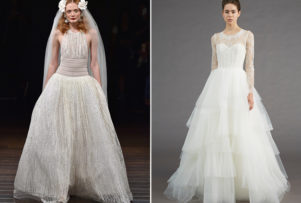 Bridal Fashion Friday: Fall 2017 Naeem Khan & Amsale