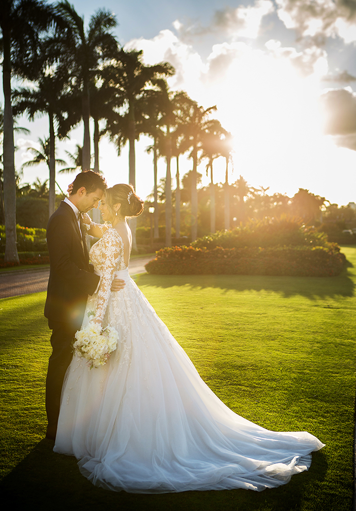 Real Wedding: Jamie & Gil at The Breakers Palm Beach