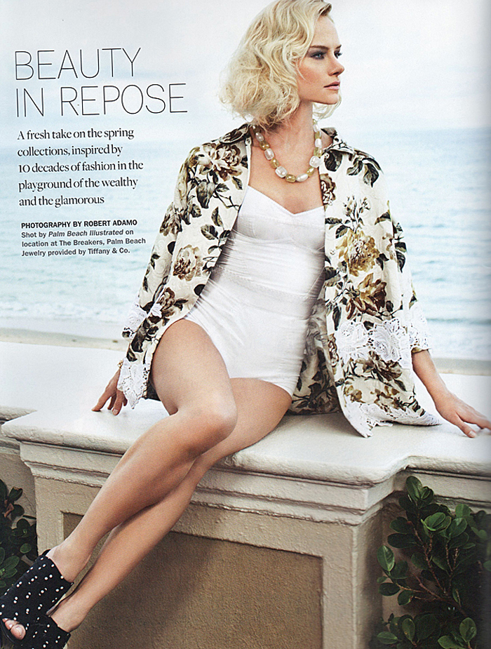 Palm Beach Illustrated Breakers' Fashion Feature