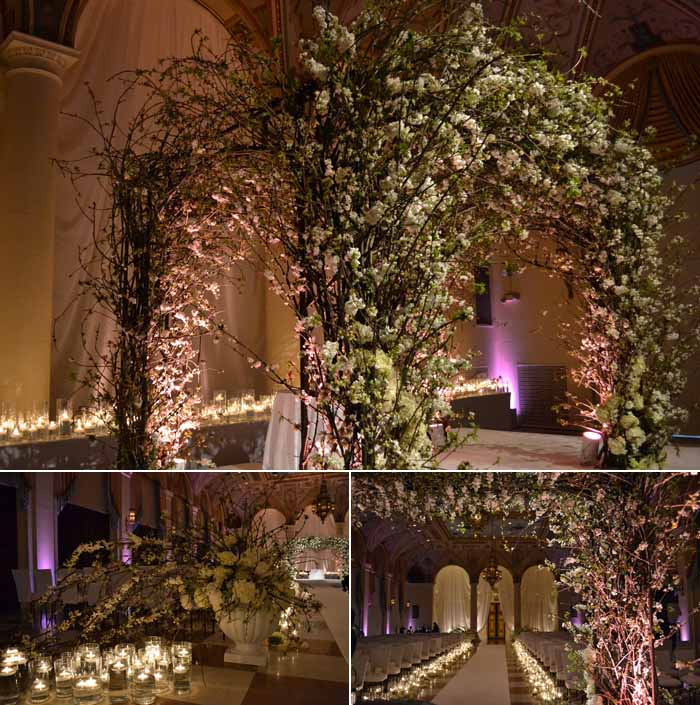 Cherry Blossom-Inspired Wedding at The Breakers