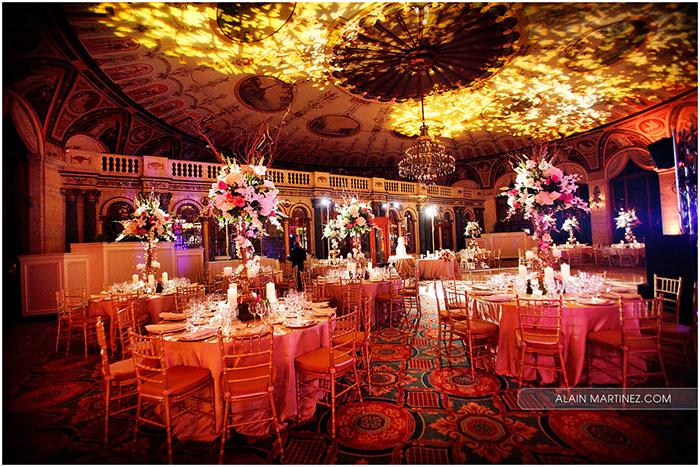 Real Wedding Inspiration: The Circle Ballroom at The Breakers
