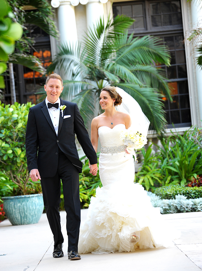 Real Wedding: Janna & Bret at The Breakers Palm Beach