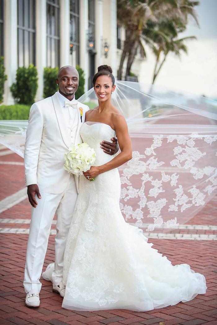 Real Wedding: Lauren Estes & Santonio Holmes at The Breakers