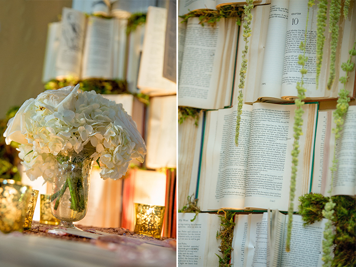 Book Wall Decor Inspiration by The Breakers Design Studio