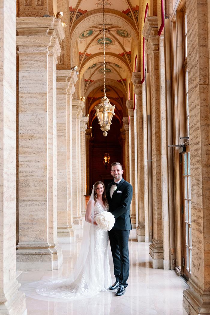 Real Wedding: Caitlin & John